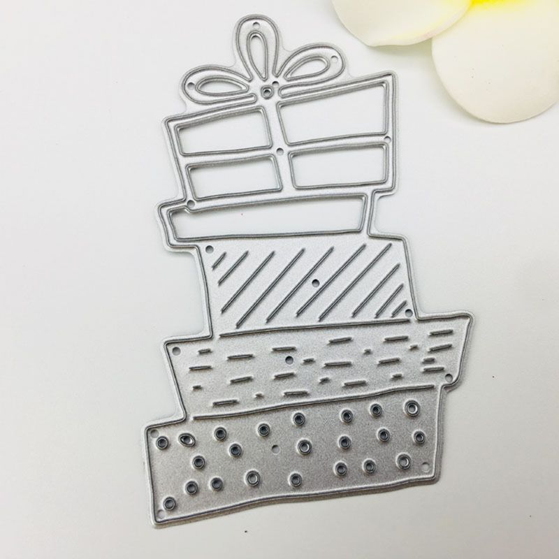 Christmas Hand sciss Metal Cutting Dies Stencil for DIY Scrapbooking Photo Embos