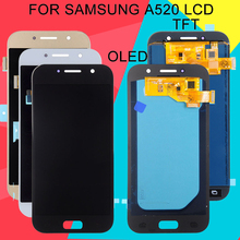 Dinamico A5 2017 Display For Samsung Galaxy A520 Lcd A520F SM-A520 Touch Screen Digitizer Panel Assembly Free Ship