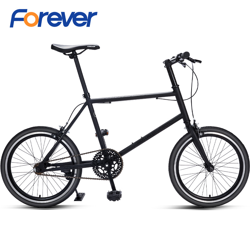 FOREVER Light Wheel Road Bike Carbon FrameVariable Speed Bike For Students Men Women Off- Road Cycle MTB Bike In 20 Inch 7 Speed