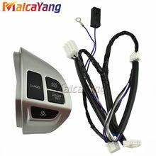 Botões de alta qualidade do volante do interruptor de controle de cruzeiro para mitsubishi asx outlander xl 2007-2012 acessórios do carro