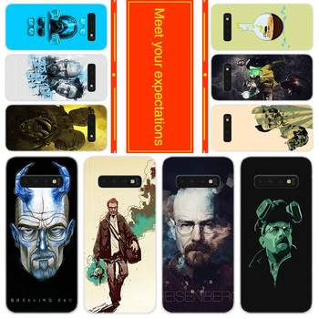 Soft Case for Samsung Note 20 10 9 8 TPU Silicone Cover Pack Note20plus Note10plus Bumper Bag Breaking Bad Chemistry Walte image