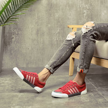 Mans Schuhe Flache Schuhe Turnschuhe Männer Leinwand Schuhe Rote Sneaker Herren Neue 2020 Männer Turnschuhe Männlichen Schuhe Buty Sportowe Meskie