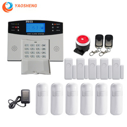 Wired Wireless Gsm Sicherheit Alarm System Mit Automatisierung Intercom Fernbedienung Autodial Ios Android Smart Home Alarm Kit Hub