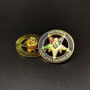Freemasonry Masonic Pins Lapel Pin Creative Star Brooch Commemorative Badges Metal Craft Badges