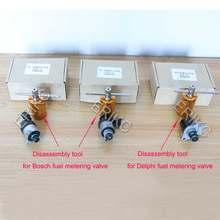 Ensemble d'outils à rampe commune pour Diesel, PVC SCV PCV Rama, outils de démontage pour BOSCH 617 818 DELPHI