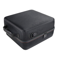 Hard Carrying Case For Oculus Rift S Pc Powered Vr Gaming Headset Protective Storage Travel Box (Black+Grey)