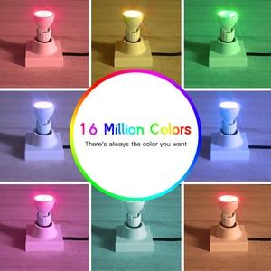 Image 3 - GLED0PTO ZIGBEE Mr16 reflektory led 4W RGB/CCT żarówka LED DC12V praca z smartthins zigbee hub echo plus inteligentne sterowane telefonem światło