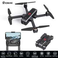 Eachine EX3 GPS 5G WiFi FPV 2K Camera Optical Flow OLED Switchable Remote Brushless Foldable RC Drone Quadcopter RTF