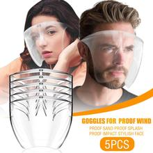 Goggles Glasses Face-Shield Protect Transparent Helmet Bike Safety-Mask Durable MTB