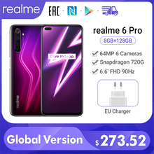 realme 6 Pro smartphone 8GB RAM 128GB ROM Global Version 6.6