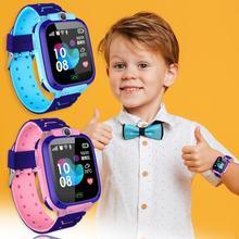 Детские умные часы с сенсорным экраном LBS местоположение HD фотография телефон часы