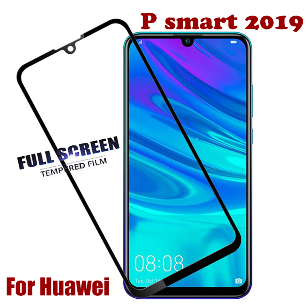 9D cover for <font><b>huawei</b></font> <font><b>p</b></font> <font><b>smart</b></font> plus <font><b>2019</b></font> 2018 tempered glass <font><b>p</b></font> <font><b>smart</b></font> Z pro phone screen protector protective film glass <font><b>smartphone</b></font> image