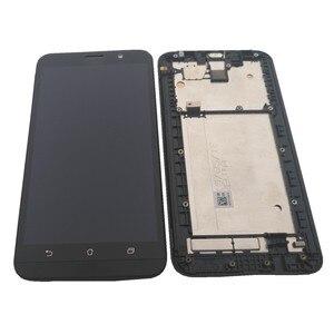 Image 2 - מקורי עבור Asus Zenfone 2 ZE551ML LCD תצוגת מסך מגע Digitizer עצרת עבור Asus Zenfone 2 ZE551ML תצוגה עם מסגרת