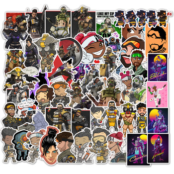 100Pcs Apex Game Stickers Luggage Suitcase Car Phone Case Bicycle Skateboard Decoration Personality Graffiti Sticker Kids Toys image