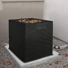 Защита от пыли, защита от снега, водонепроницаемая крышка для наружного кондиционера, крышка для очистки кондиционера