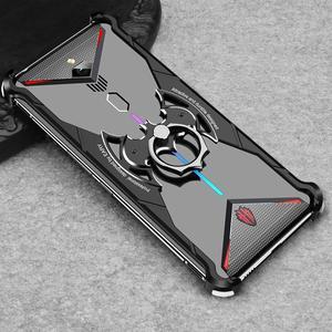 Image 3 - Suitable Case For Nubia Red Magic 3 mobile Phone Case metal bracket bare metal sense Bat bracket Phone Case For Red Magic 3S