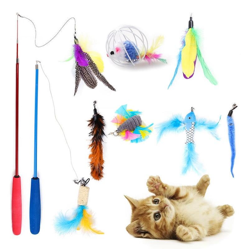 10pcs cat toy
