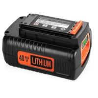 Batería de iones de litio de repuesto, herramientas eléctricas de 4000mah, Black & Decker, 40v, BL2036, LB20, LBX2040, LBXR36, L70, batería recargable de respaldo