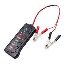 جهاز فحص بطارية السيارة متعدد الوظائف, 12 24 فولت ، أداة تشخيص السيارة ، مولد رقمي ، اختبار بطارية السيارة ، 6 أضواء LED