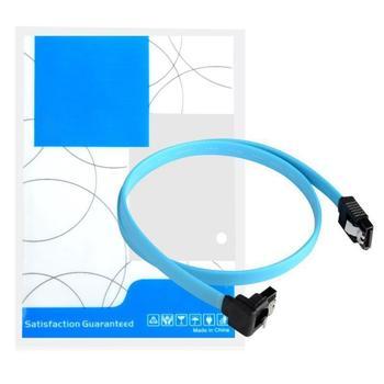 """Para HDD disco duro USB de alta velocidad Cable de 5 piezas 18 """"SATA 3,0 Cable SATA3 III 6 GB/s bien ángulo de 90 grados"""