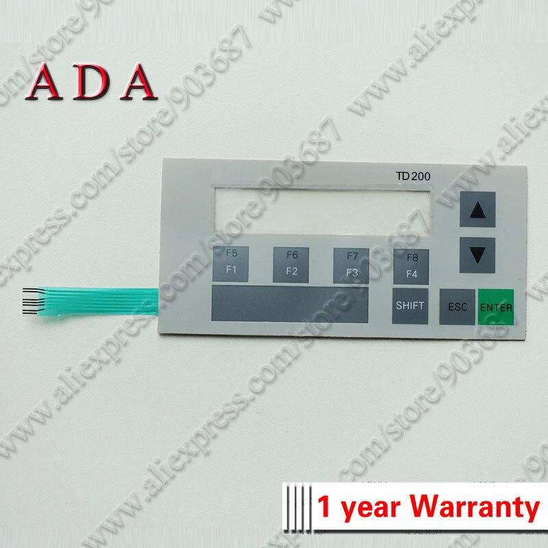 6ES7272-0AA00-0YA0 Membrane Keypad Switch Keyboard for 6ES7 272-0AA00-0YA0 TD200