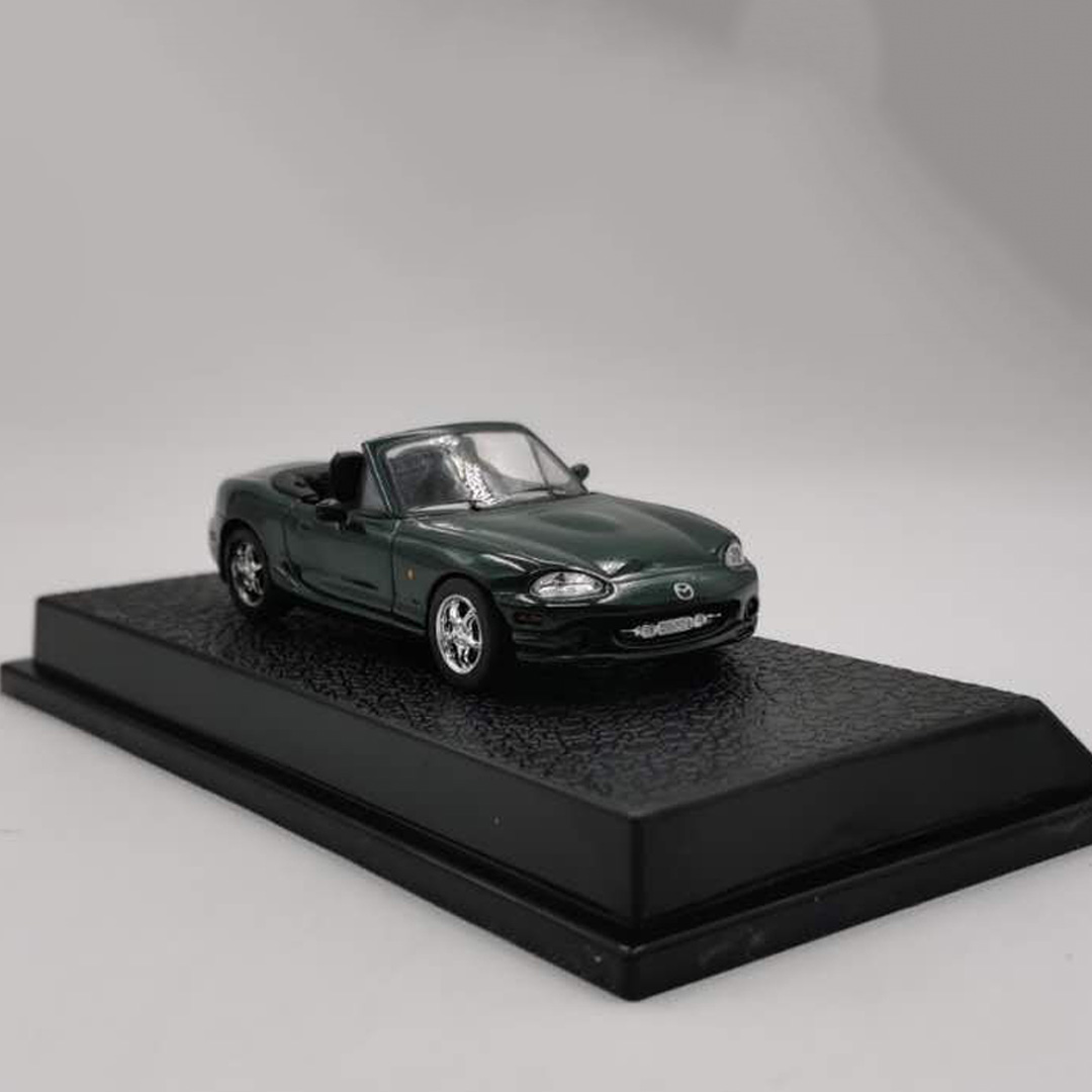 Mazda MX-5 Sports Car 1:43 Scale Alloy Die-casting Simulation Car Model Children's Toy Gift Collection Indoor Display Decoration