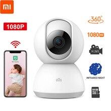Xiao mi jia, 360 градусов, ночная версия, IP, умная камера, Wifi, детский монитор, голосовой монитор, веб-камера, видео для mi Home