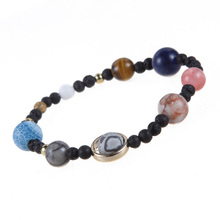 Women Men Bracelets Planets Beads Bangles Fashion Jewelry Natural Stone Bracelet For Women Men Jewelry Accessory Gift #5