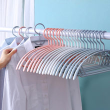 10PCS Antiskid Traceless Household Hangers For Clothes Stacking Suspension Saves Space Drying Rack Multifunction Storage Hangers