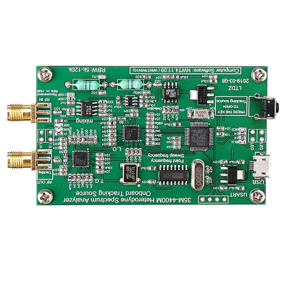 Analizador de espectro USB fuente de señal de espectro de alta precisión Herramienta de Análisis de dominio de frecuencia RF ancho de banda de barrido 33 mHz-4400 mHz 120W 240W Samsung LM301H/301B Quantum LED Grow Light Board Full Spectrum 3000K 5000K 660nm 760nm Hydroponic Kits