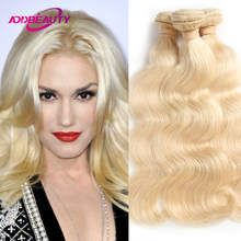 Body Wave 613 Blonde Hair Ali Queen Bundle Unproccessed Raw Virgin Human Hair Brazilian Human Remy Hair Extension Double Drawn