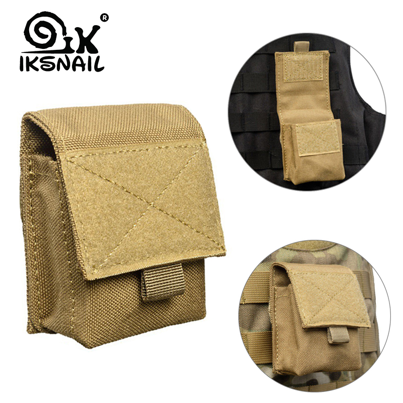 IKSNAIL New Military Tactical Life Sport Bag Multifunctional Tool Pouch EDC Hinge Hunting Durable Belt Pouches Packs Outdoor New