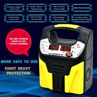 Hot New 12V 24V Car And Motorcycle Battery Charger Full Intelligent Automatic Universal Battery Copper Charger