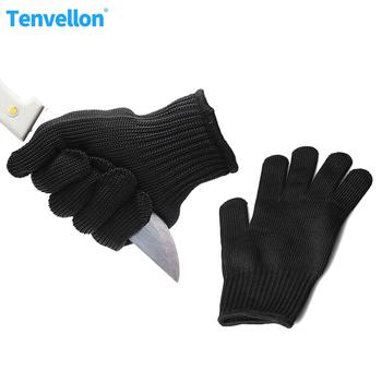 Rękawice antyprzecięciowe materiały ochronne rękawice ochronne o wysokiej wytrzymałości stopień 5 ochrona rękawice ochronne odporne na przecięcie tanie i dobre opinie Tenvellon Anti Cut Gloves