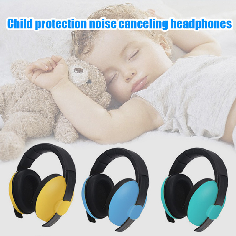 Baby Ear Protection Noise Cancelling Headphones Earmuffs For Kids Noise Reduction Hearing Can CSV