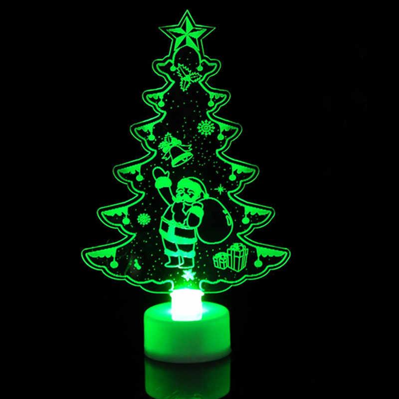 1 шт. Красочный светодиодный декоративный светильник товары на новый год