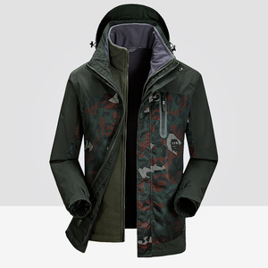 Image 2 - Jacket Men Winter Waterproof Streetwear Military Loose Parka Coat Big Size Brand Fleece Keep Warm Thermal Hooded Windproof
