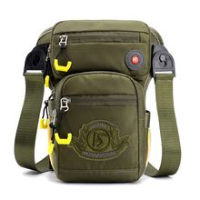 Nylon Drop Waist Leg Drop Bag for Men Fashion Riding Fanny Pack Travel Messenger Shoulder Bags Male Chest Bag multifunctionl men camouflage nylon waist bag belt bag portable men s waist bag men thigh leg drop travel riding fashion bags