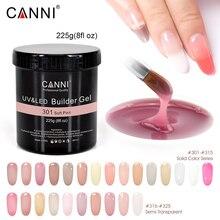 225g 8oz CANNI Camouflage thinn Jelly UV Soak Off 25 stick żel budujący uv manicure wielofunkcyjne paznokcie przezroczysty żel UV do paznokci