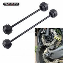 Front Rear Sliders Moto For YAMAHA MT 07 2020 MT07 2014 FZ07 2018 Motorcycle Accessories Falling Protection Axle Wheel Protector