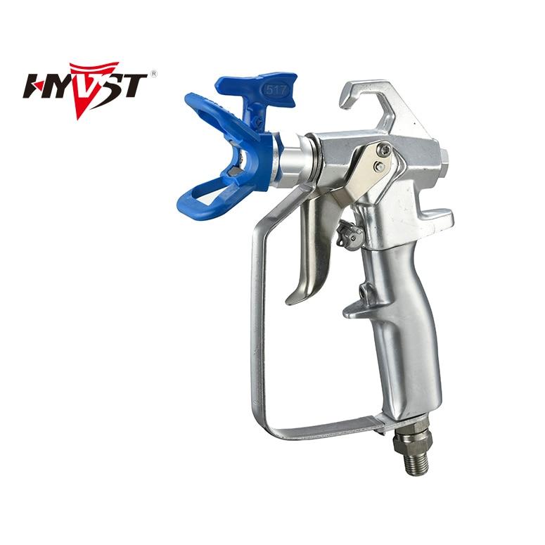 Pistol pulverizator de vopsea fără aer HYVST Contractor pistol - Scule electrice - Fotografie 3