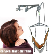 Medical Neck Brace Cervical Traction Frame Doors Suspension Cervical Spondylosis Treatment Tensioner Neck Stretcher Pain Relief