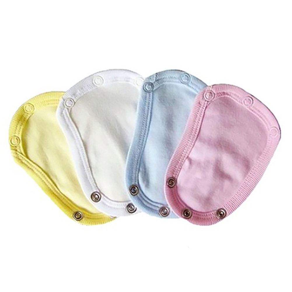 1PC/4pcs Jumpsuit Extender Baby Infant Todder Romper Diaper Bodysuit Diaper Jumpsuit Diaper Lengthen Extend Film Solid Color