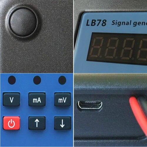 2019 LB78 4-20mA/0-10 V/mV calibrateur de source de générateur de Signal avec PLC, DCS, ESD - 4