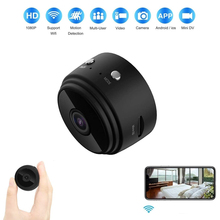 WiFi 1080P IP Camera Battery Power Mini Camcorder Motion Detection Remote View DV Camera Sport Class Meeting Moto Recorder Car
