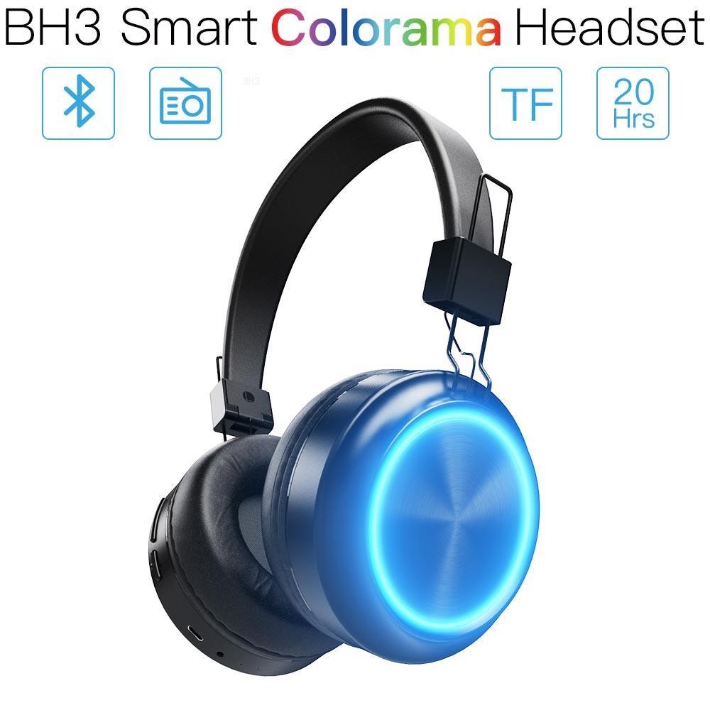 JAKCOM BH3 Smart Colorama Headset as Earphones Headphones in glow in the dark sport earphone