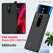 6800mAh Battery Case Phone Charger For Xiaomi Redmi K20 Pro Power Case External Battery Powerbank for Redmi K20 Charging Cases(China)