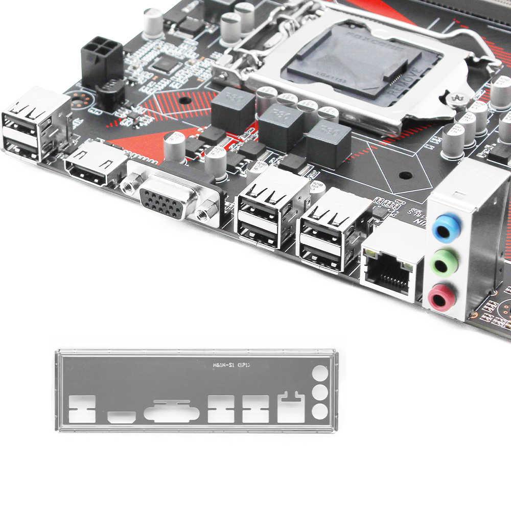 H61 masaüstü anakart LGA 1155 desteği Intel i3 i5 i7 CPU USB3.0 SATA3.0 mikro ATX pci-e 3.0 ddr3 ram bellek h61M-H