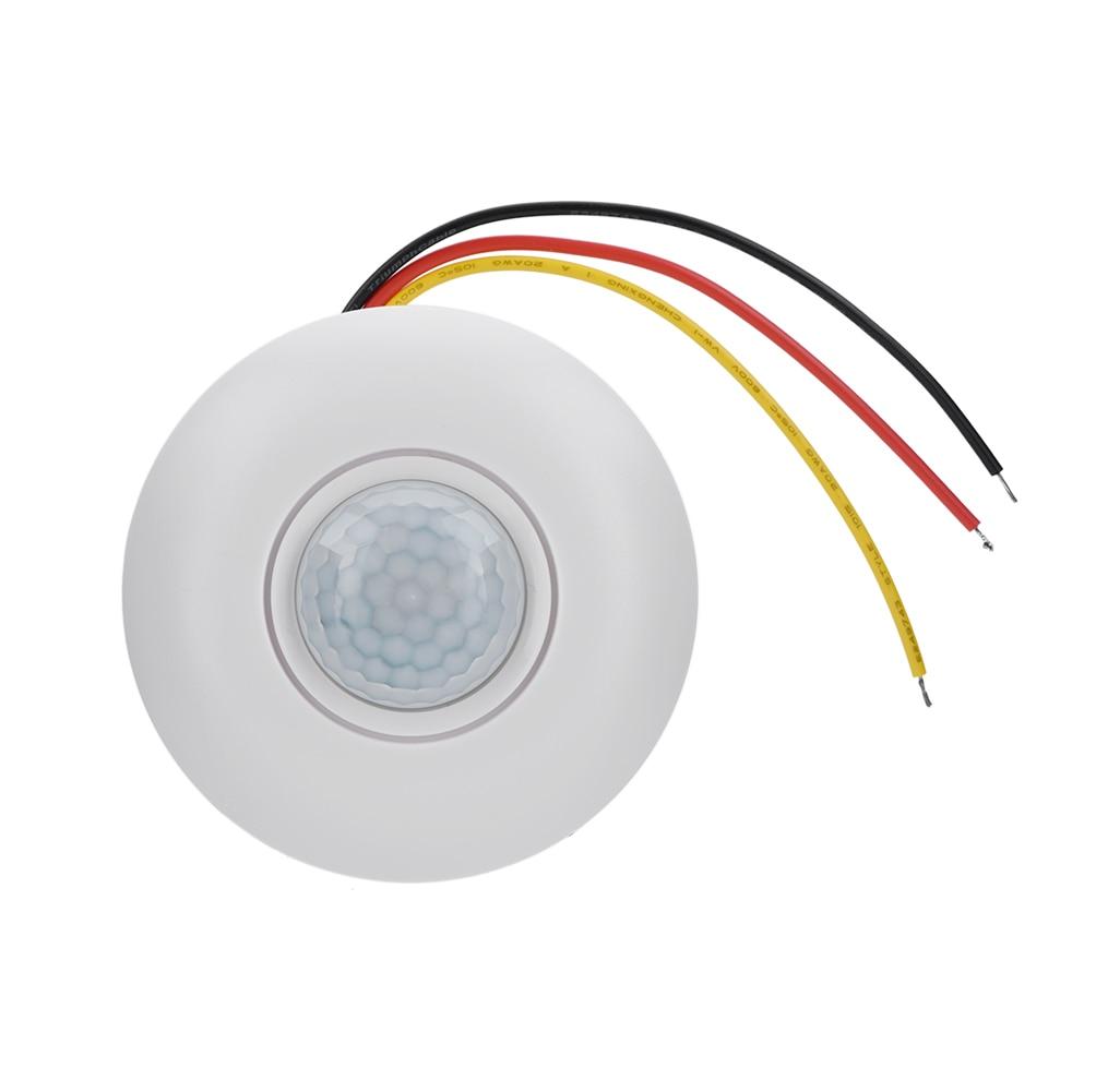 360 инфракрасный датчик движения PIR, интеллектуальный датчик яркости с задержкой времени, светодиодный потолочный светильник