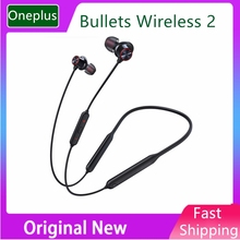 Original OnePlus Bullets Wireless 2 Bluetooth earphone Hybrid AptX Bullets Wireless 2